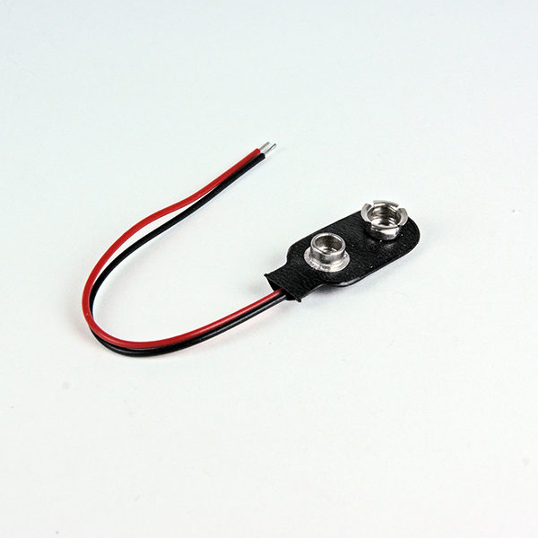 Batterikontakt till 9 volts batteri